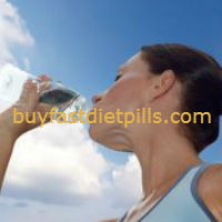 drinking only water for weight loss